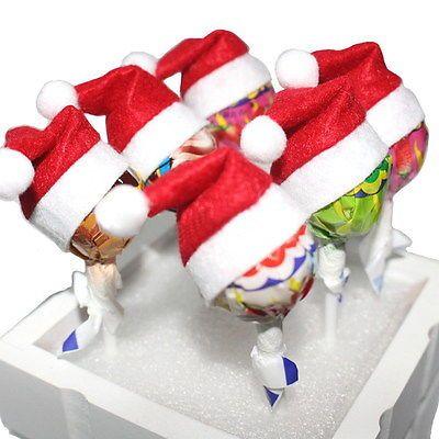 18pcs Mini Santa Claus Hat Cover Wrap Cap Christmas Lollipop Candy Sugar Decor https://t.co/4TCqqeT8fs https://t.co/lqOtknH1CU