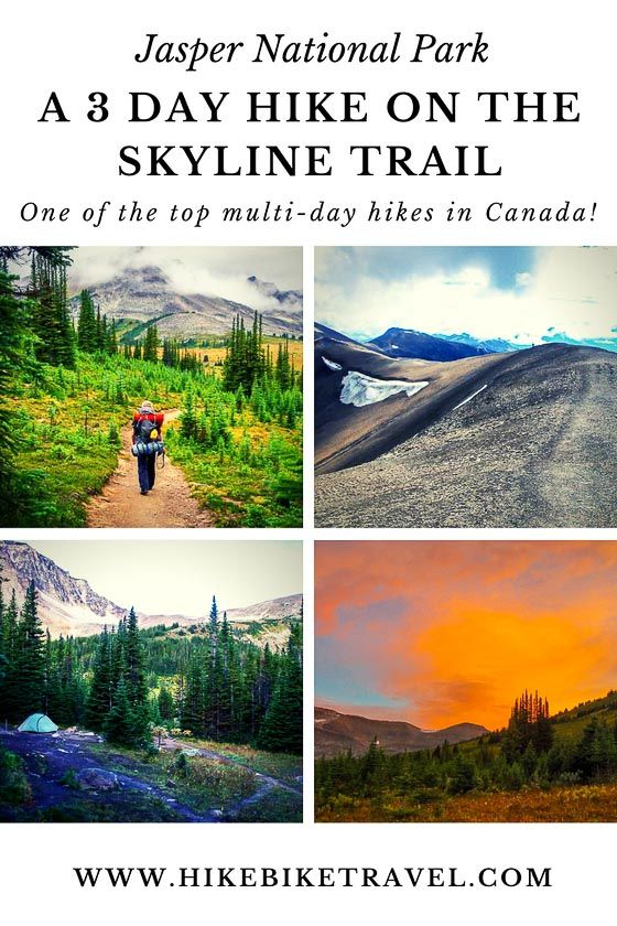 A 3 Day Hike On The Skyline Trail Jasper National Park National
