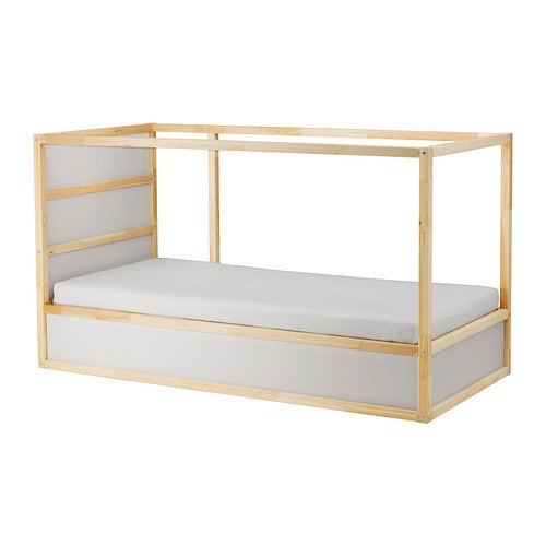 Kura Reversible Bed White Pine Twin Loft Bed Frame Ikea Bed