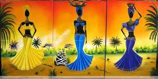 Resultado de imagen para africanas pintadas