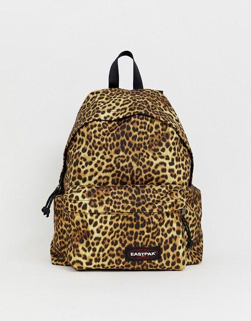 Sac à dos eastpak motif léopard