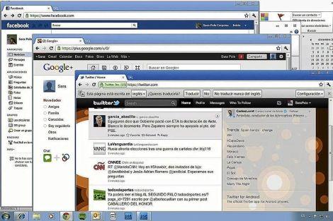 Facebook y LinkedIn superan en rendimiento a Twitter