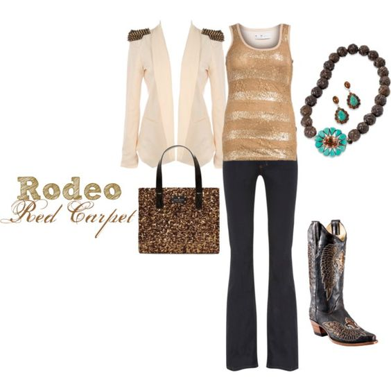 """""""Rodeo Red Carpet"""" by westernglamour on Polyvore"""