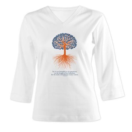 Toomer's Oaks 3/4 Sleeve Shirt with Ezekiel 31:7 verse $29.50