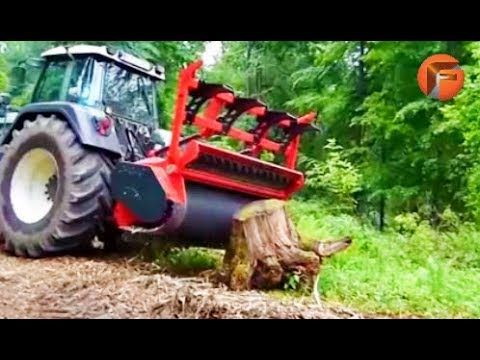 7 Insane Stump Removal Machines Youtube Stump Removal Stumped Tractors