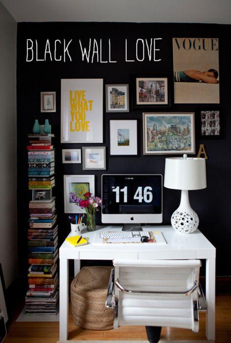 books next to desk