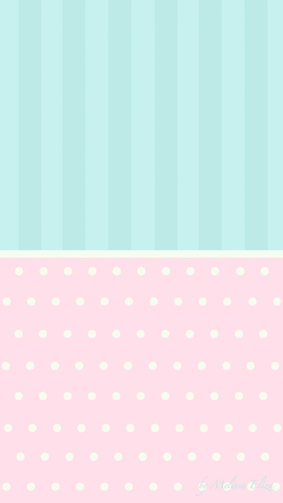 mint and pink wallpaper - photo #9