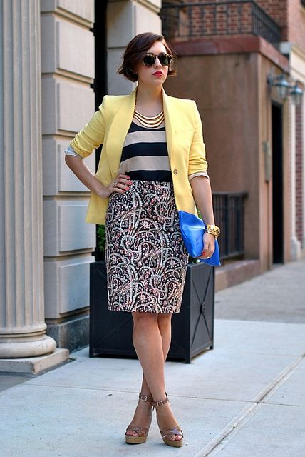 my style pill, mixing prints and colors and always looking amazing.