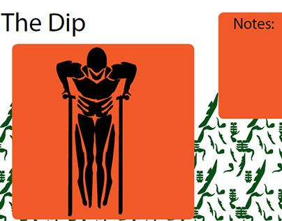 """Check out new work on my @Behance portfolio: """"The dip workout page from icon book."""" http://on.be.net/1JVBWoD"""