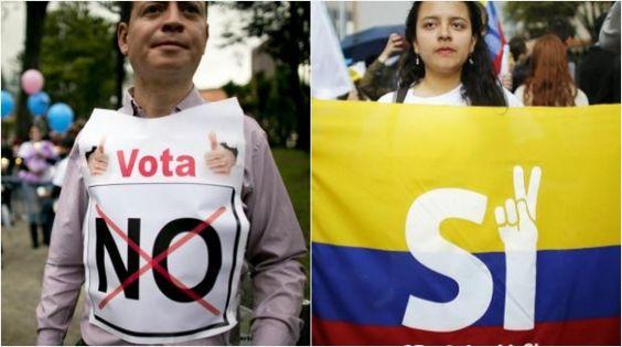 Colombianos van a las urnas decidir 'si o no' acuerdo de paz con las FARC