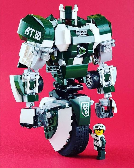 Gyro Mech with its Driver Alive Tenor | Built by aido k via Flickr We don't see…