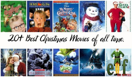Christmas Movies 20 Best Christmas Movies Of All Time In 2020 Christmas Movies Best Christmas Movies Christmas Movies List