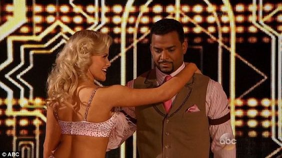 Last but not least: Alfonso Ribeiro and Witney Carson performed the jive chosen by Carrie Ann Inaba