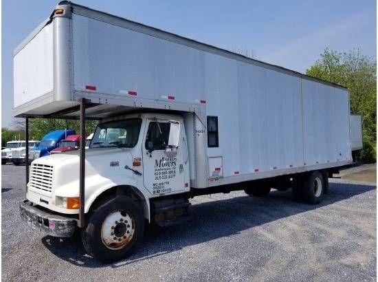 2000 International 4900 Moving Van Bethel Pa 122917749