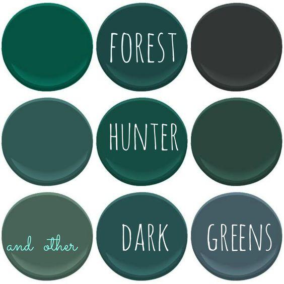 Benjamin moore dark greens absolute green bavarian forest black forest green dollar bill - Hunter green exterior paint paint ...
