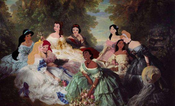 Classic princesses.
