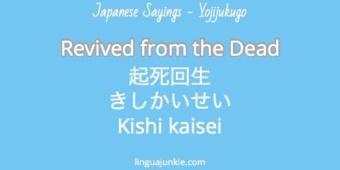 Yojijukugo - Linguajunkie.com