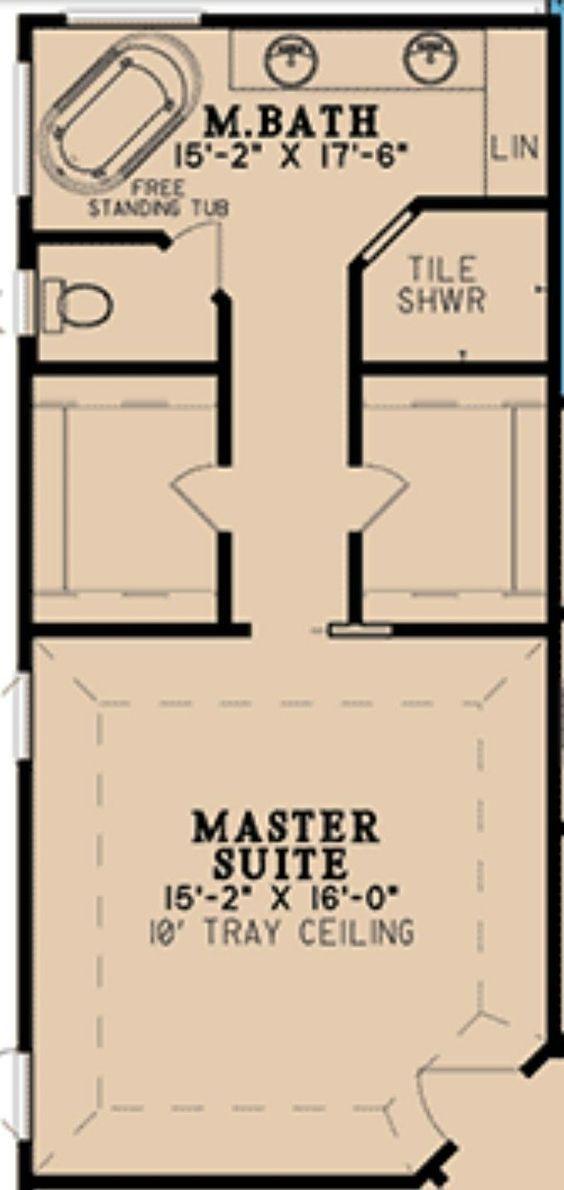 46 Beautiful Bedroom Door Design Ideas In 2020 Master Bedroom Plans Master Bedroom Layout Master Suite Floor Plan