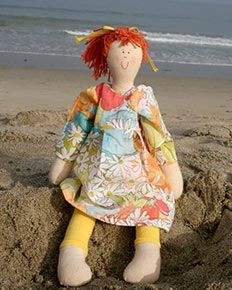 Design & Name your own doll!  |  Buy this and help the underprivileged in Chile.: Doll Ideas, Emboidered Doll, Hand Made Dolls, Gorgeous Dolly, At The Beach, Dolls Making, Doll Create