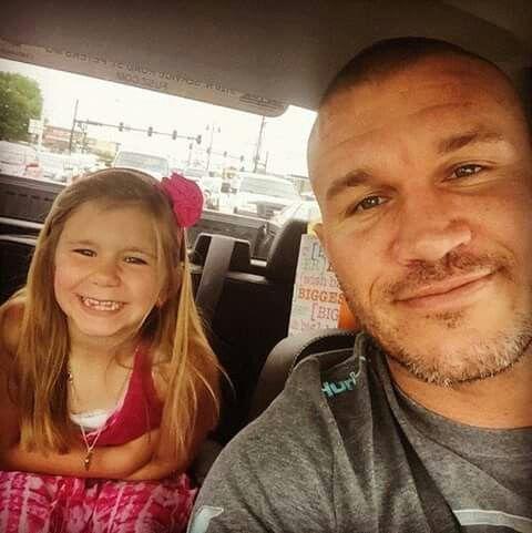 Randy Orton & Daughter Alanna | Wwe Family | Pinterest ...