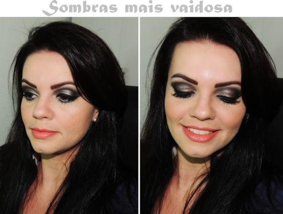 Blog Thati Maforte Tudo para Maquiagem: Maquiagem usando sombras Mais Vaidosa