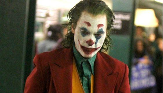 Set image from Joker starring Joaquin Phoenix