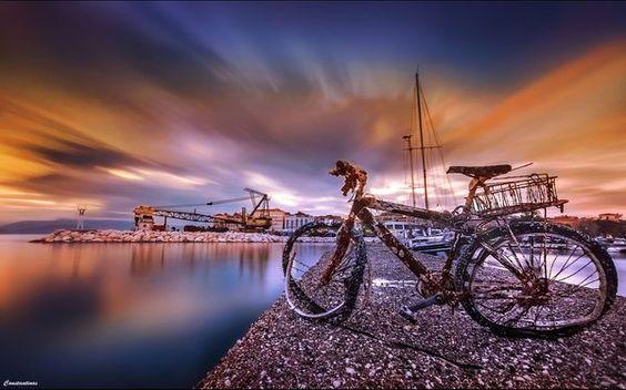 Dreamy Ride in Sky by Konstantinos Metallinos, Corfu, Greece ~ Kuchi FM Fotos