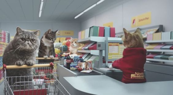 I'm not sure what I just watched, but I loved it. This viral advert for German-based Netto Marken-Discount grocery store has more than 11 million views.