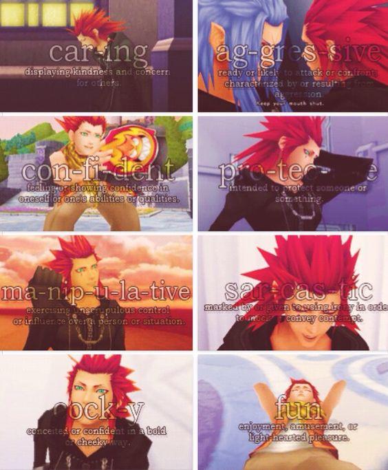 Axel / Lea | Kingdom Hearts