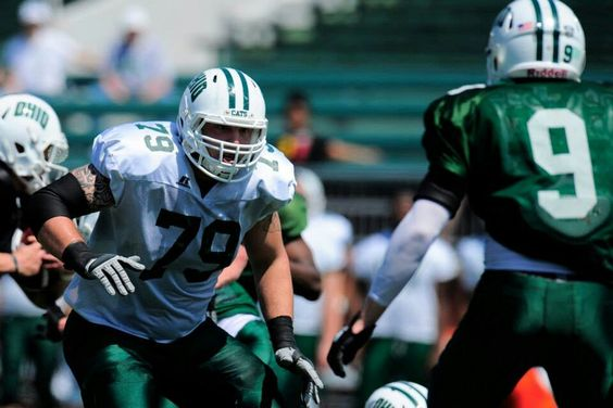 2014 Green and White game : OL TROY WATSON