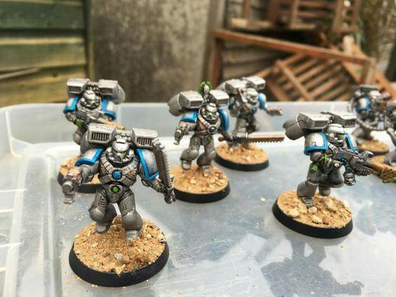 Warhammer 40k - Space Marine - Astral Claws