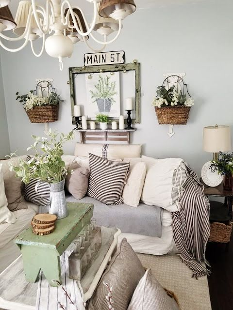The Quaint Sanctuary Cozy Summer Country Cottage Living Room Refresh Summer Living Room Country Cottage Living Room Country Cottage Decor