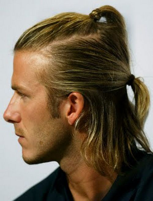 Boys Pony Hairstyles 18 Latest Pony Hair Styling Ideas Men David Beckham Hairstyle Beckham Hair Long Hair Styles