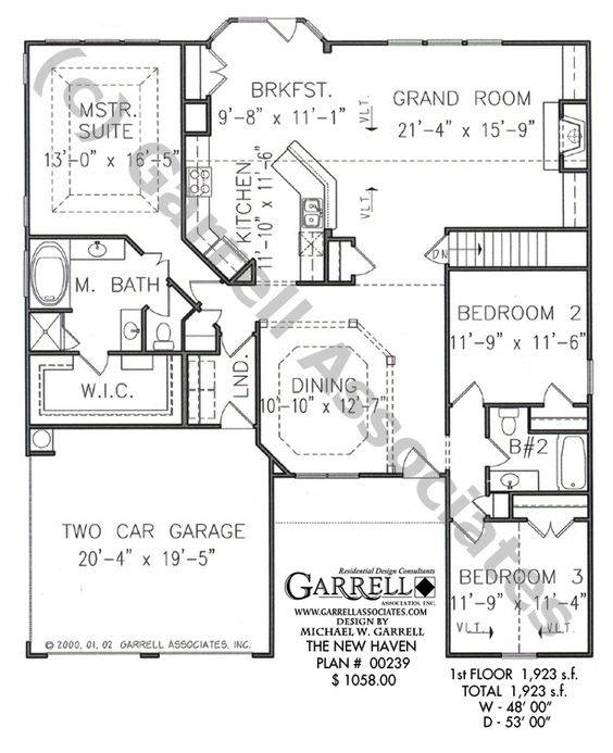 House plans ranch style house and small house plans on for Accessible house plans small