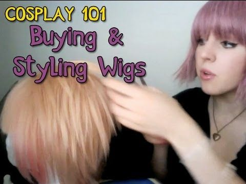 """Cosplay 101: Buying and Styling Wigs Video Tutorial"" Haven't watched it, but might come in handy later!"