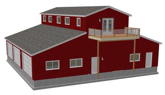 Pole Barn Designs Mwps 72054 Housing 24 Pole Utility
