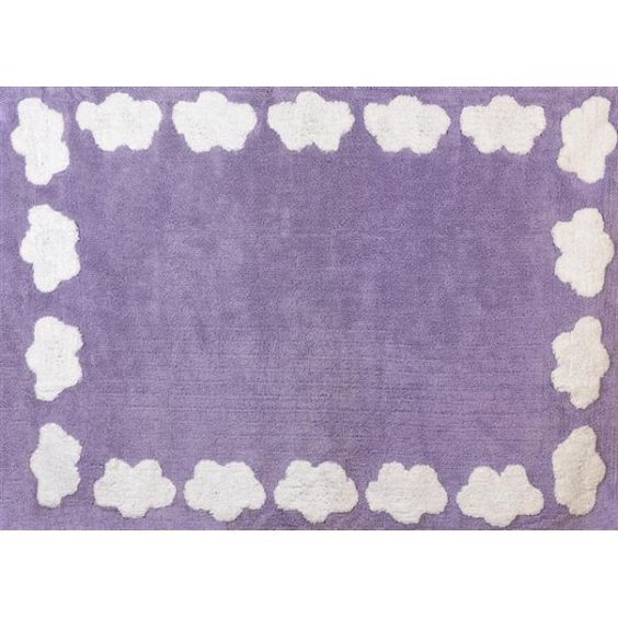 alfombra lavable nube