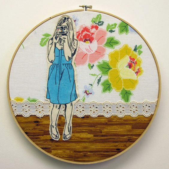 my new fav embroidery from the always lovely 365luckydays.