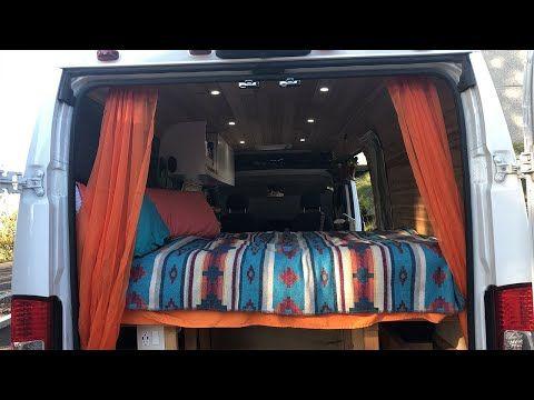 Van Tour 2015 Ram Promaster 2500 159 High Roof Camper Van For Sale Youtube Ram Promaster Camper Van Van Conversion