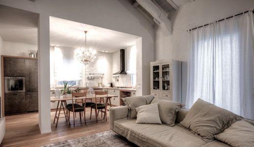 Open Space Con Cucina E Soggiorno In 25 Mq Idee E Consigli Homify Interior Design Design House