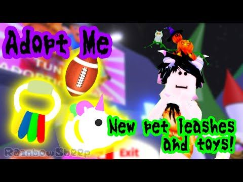 Roblox Adopt Me Pet Leashes And Chew Toys Update Youtube Pet