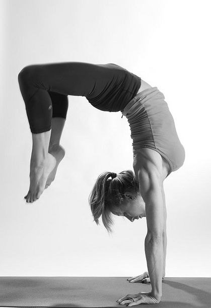Someday I'll be on this level! (San Francisco Yoga Club rock-your-body)