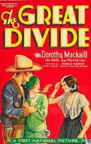 The Great Divide (1929) Poster