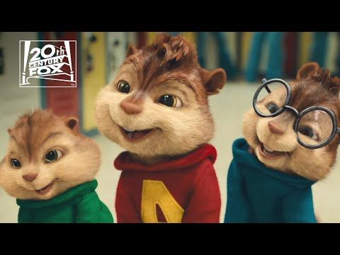 Alvin And The Chipmunks The Squeakquel In Love Clip Fox Family Entertainment Youtube Alvin And The Chipmunks Chipmunks Saturday Cartoon