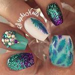 Stephanie Loesch @_stephsnails_ PrincessPeach #p...Instagram photo   Websta (Webstagram)