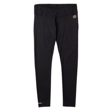 Burton Womens Snowboard First Layer Lightweight Pant True Black
