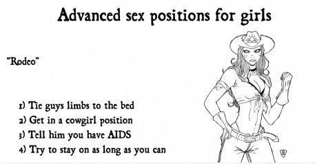 Advice: Advanced Sex Position for Girls