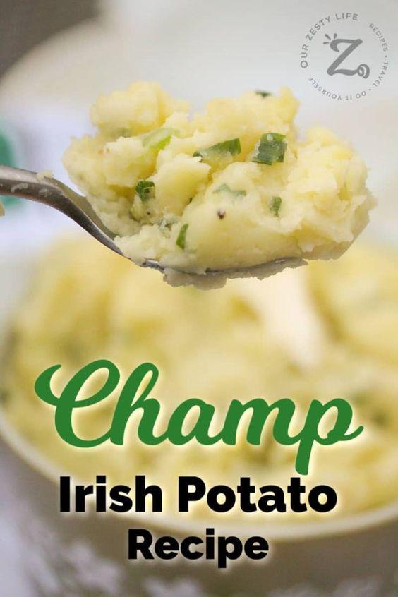 Champ Irish Potato Recipe