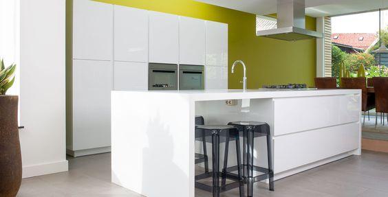 Mooie Keuken Modellen : Wit blad – Mooie keukens Pinterest – Modern, Met en Modellen