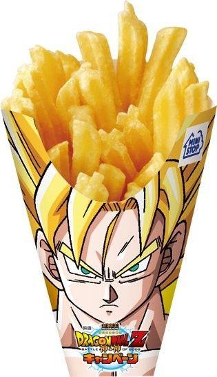 Dragon Ball Z fries